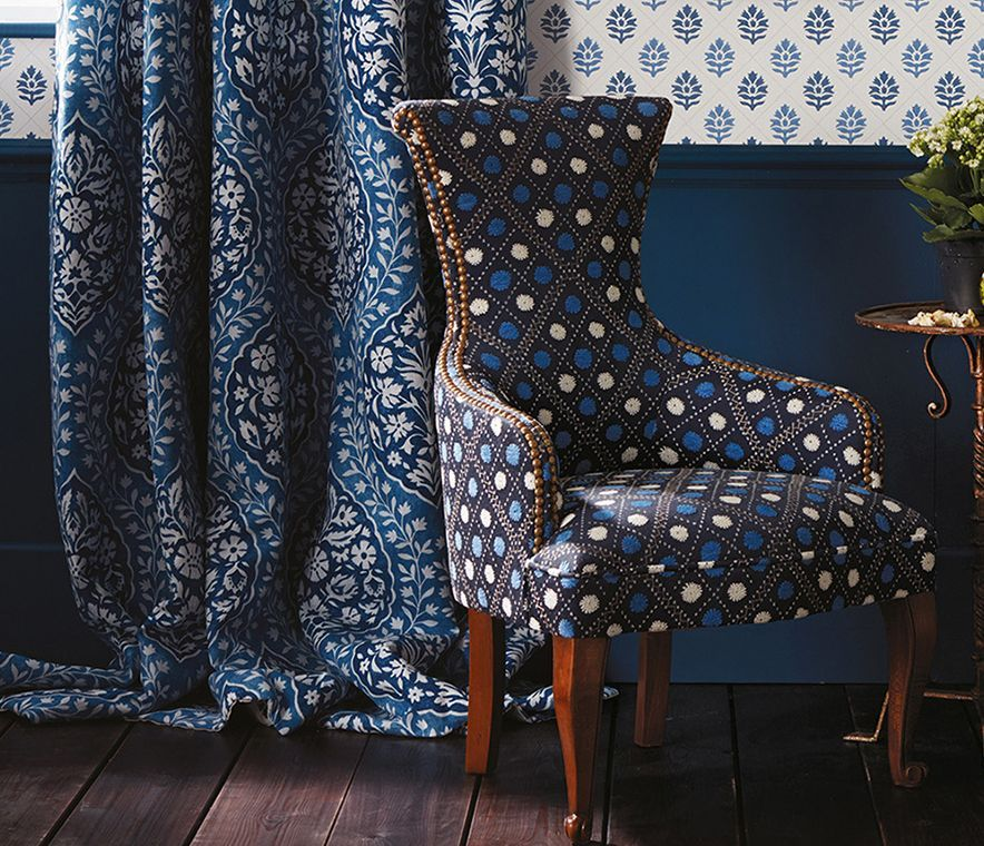 Nina Campbell Les Rêves Wallpapers inspired by the works