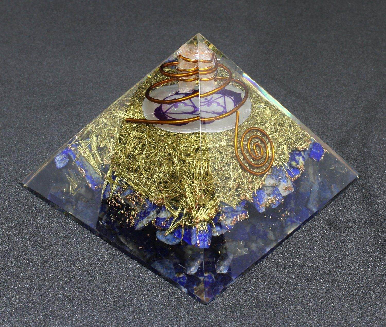 Orgone Pyramid Energy Generator Kit   orgonite   Energy