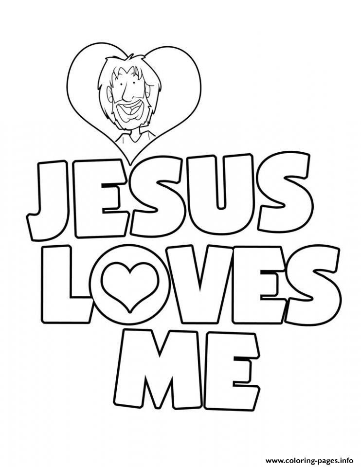 Print jesus loves me coloring pages | fun fiesta decorations ...
