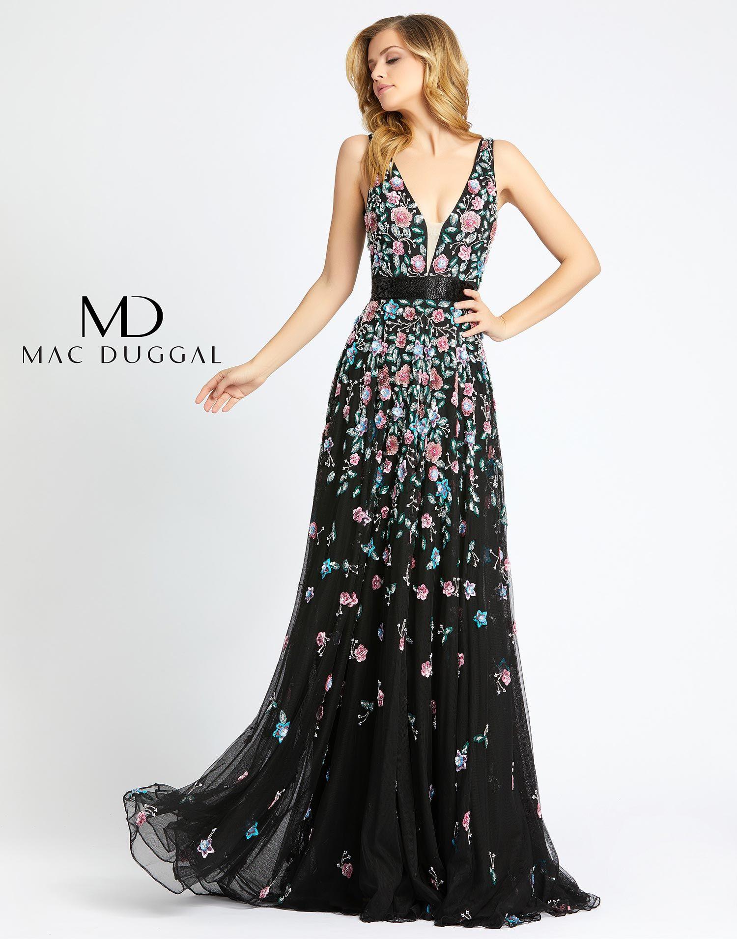 4983m mac duggal evening dress mac duggal prom dresses