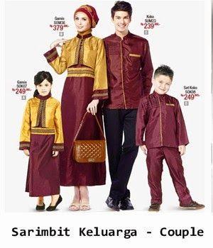 Baju Couple Keluarga Besar