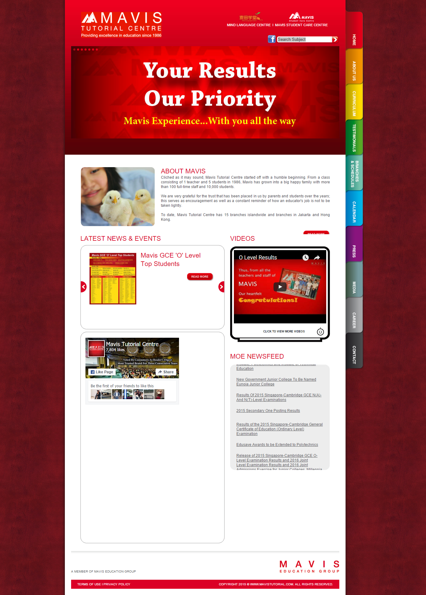 cool Sample Websites for Maths tutors math tuition agency