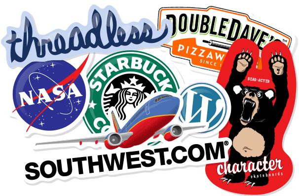 Custom Stickers Brand Marketing Ideas Pinterest Custom Die - Custom decal stickers