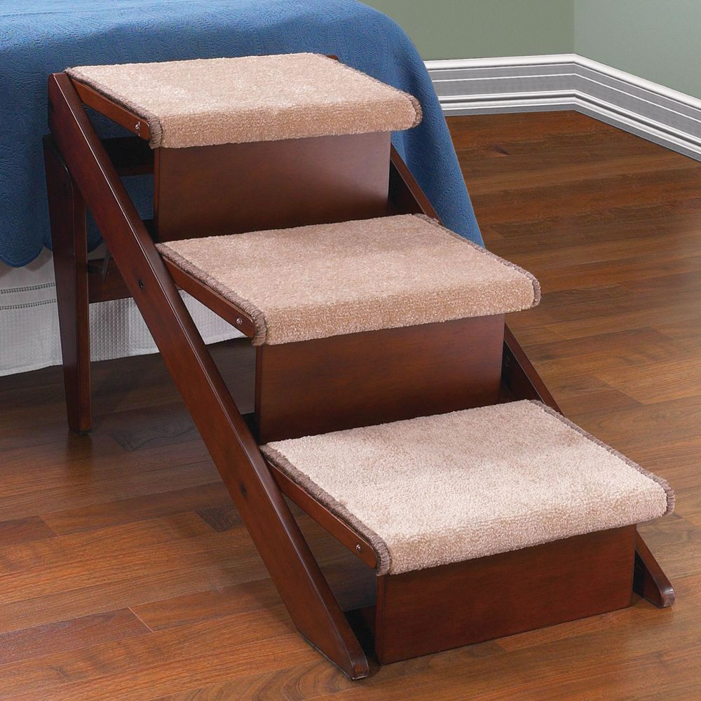 Superb The Pet Ramp And Staircase   Hammacher Schlemmer