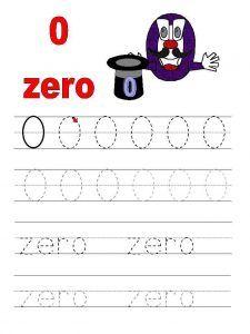 number-0-tracing-worksheets-for-preschool-kindergarten ...