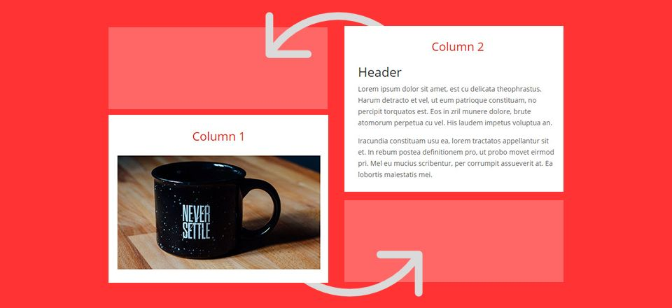 How To Adjust Divi S Column Stacking Order On Mobile Devices