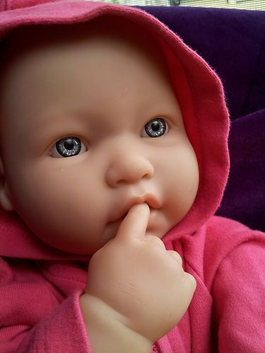 My Life Size Large 20 034 Berenguer Girl Baby Doll Play Or Reborn Vinyl And Cloth Baby Dolls Baby Doll Play Baby Doll Clothes