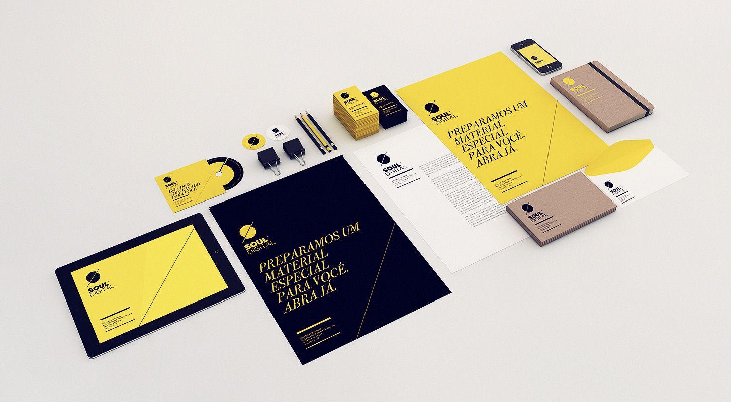 Stationery Overdose – Fresh Branding & Visual Identity | identity ...