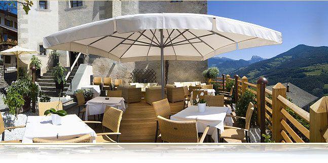 Terrazza Giardino Panoramica Hotel E Ristorante Ansitz Zum