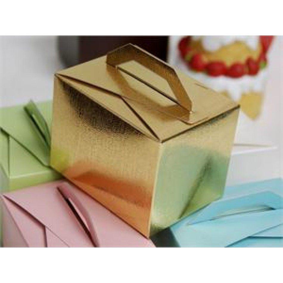 Tote Favor Boxes - Gold (Bulk 100 Pieces) [EF Tote Favor Box Gold ...