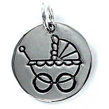 Medalla Plata My Life Carrito Bebé