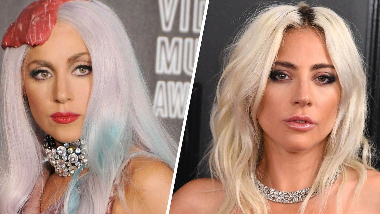 Why Lady Gaga Doesn T Wear Wigs Anymore According To Her Hairstylist Silver Blonde Hair Lady Gaga Real Hair Permanent Hair Dye