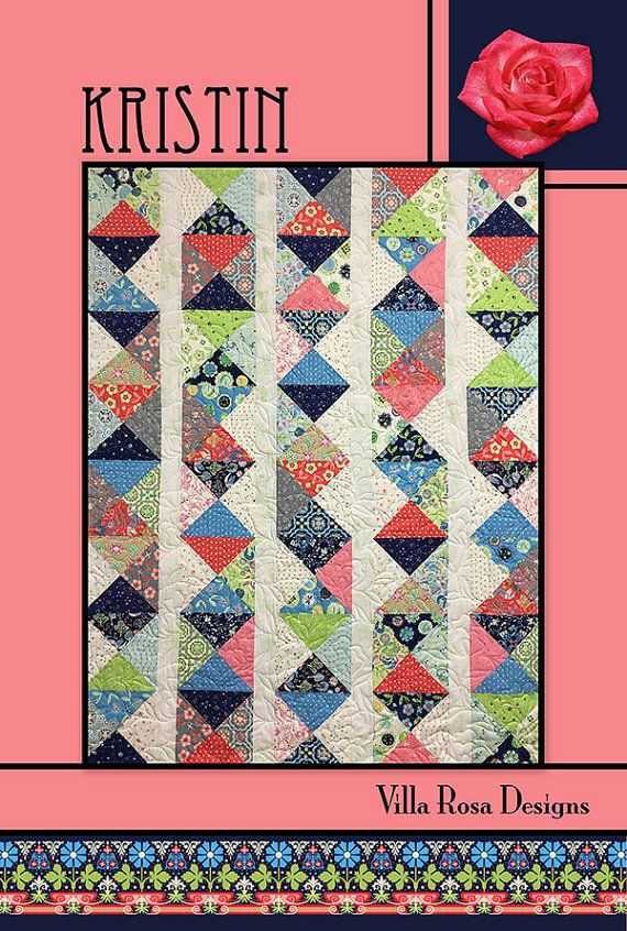 KRISTIN Quilt Pattern - Villa Rosa Designs - Layer Cake Friendly ... : layer cake friendly quilt patterns - Adamdwight.com