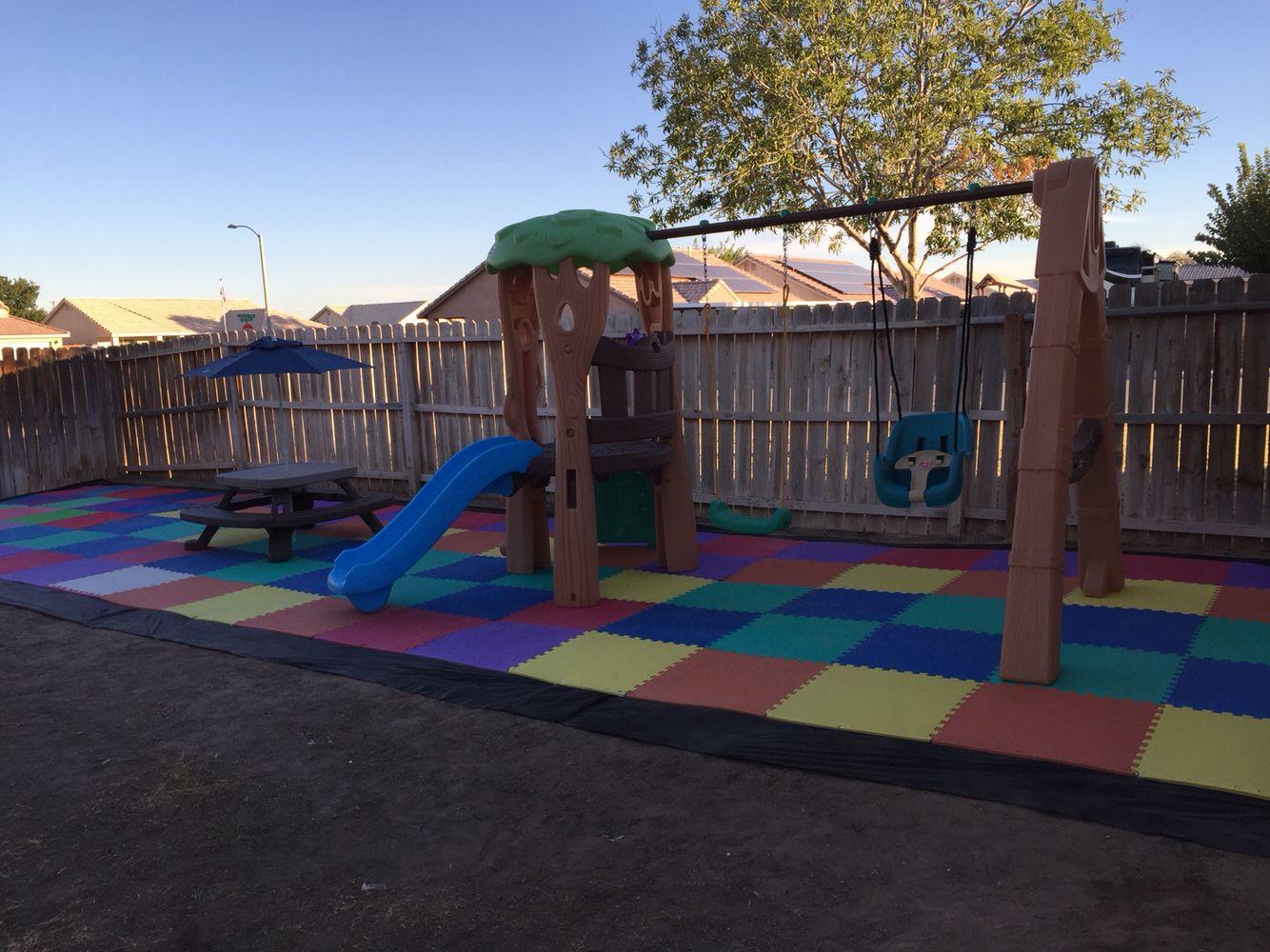 Playground flooring. 2sqft foam interlocking mats times