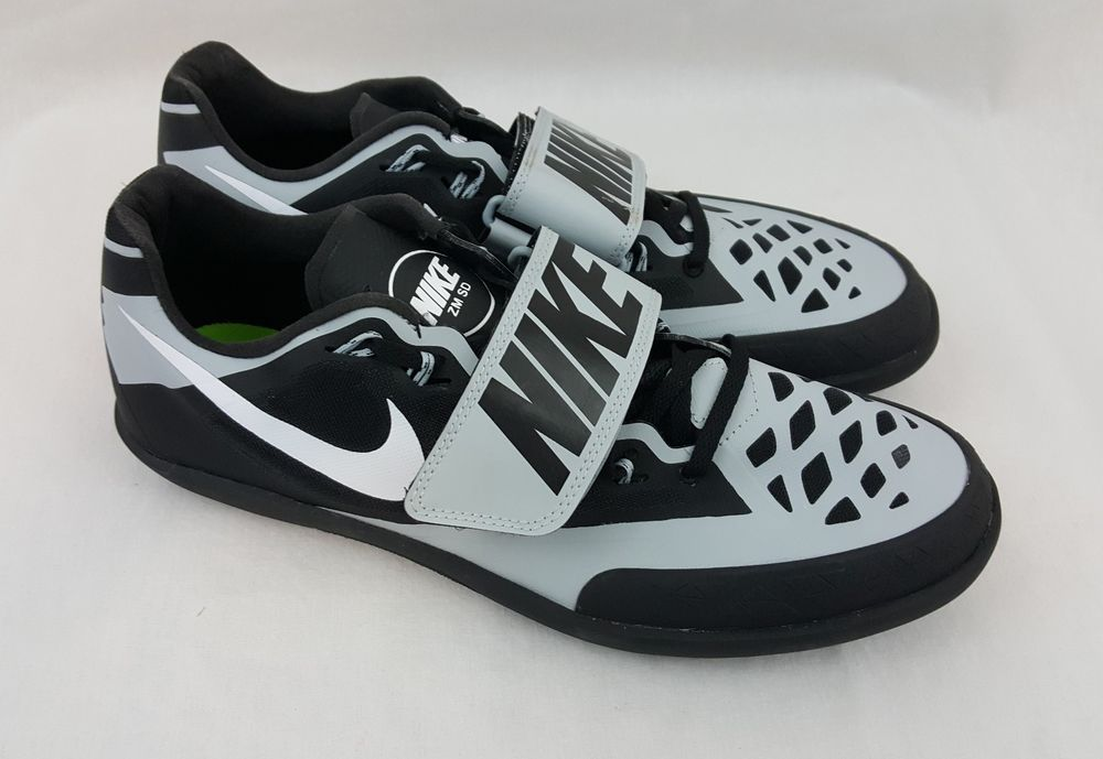 timeless design 8417a f6558 Nike Zoom SD 4 Throwing Shoes Track Field Mens Size 11.5 Black Grey  685135-001  Nike  Throwing  zoomsd4  track field  track