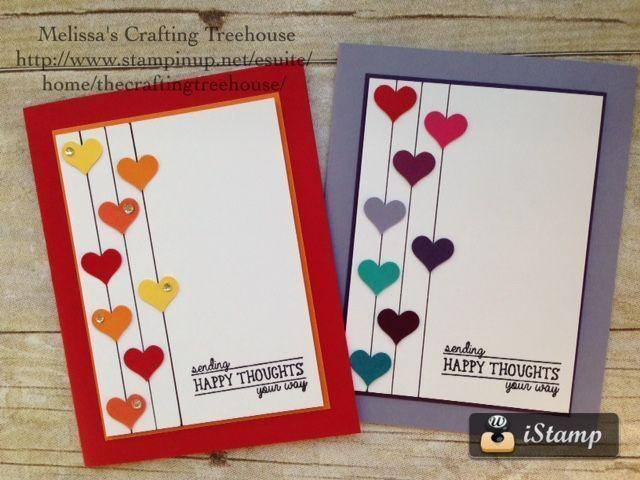 Diy Handmade Clean And Simple Card Using The All Boxed Up Simple Cards Cards Handmade Birthday Cards Diy