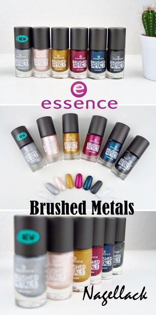 essence Brushed Metals Nagellack   Nails   Pinterest   Decoración de ...