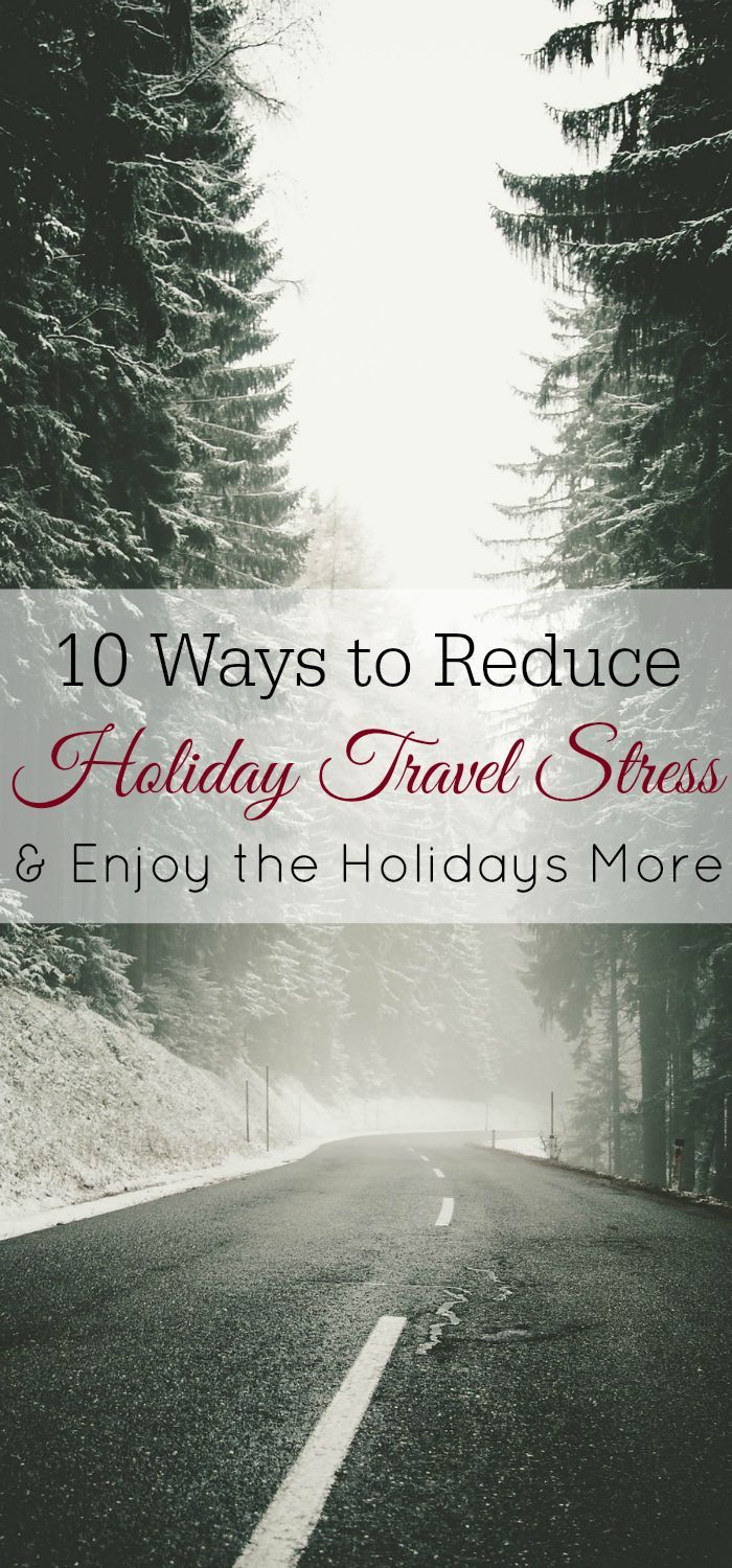How to Reduce Holiday Travel Stress