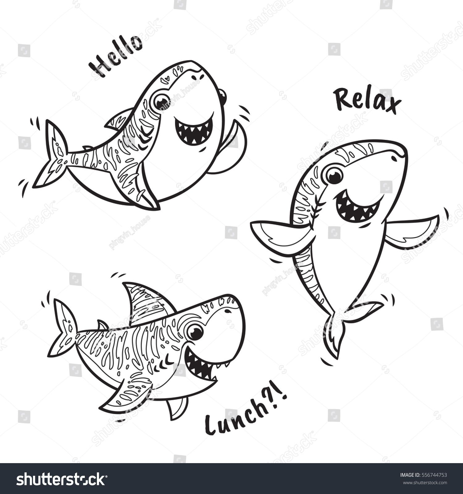 shark coloring page - Google Search | TEACH | Pinterest | Shark ...