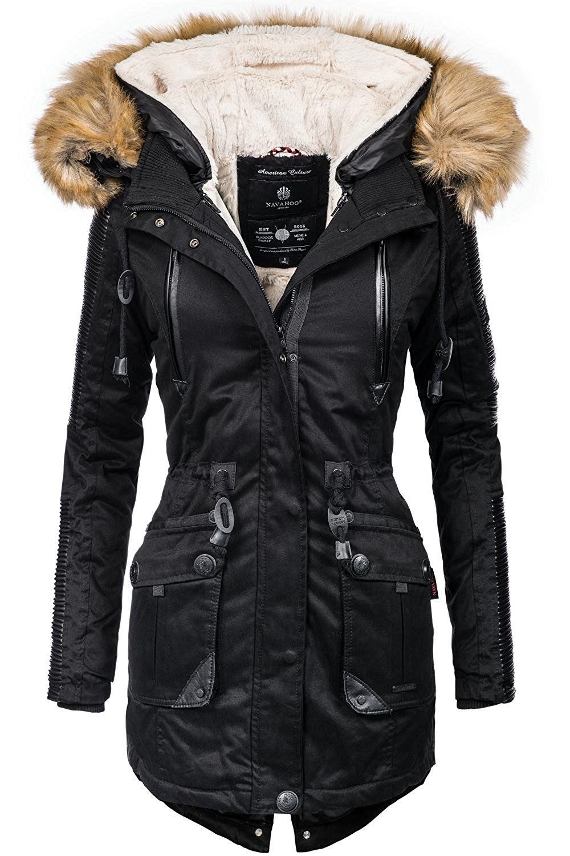 purchase cheap 008e4 c3028 Navahoo Damen Jacke Winterjacke Winterparka Dunja (vegan ...