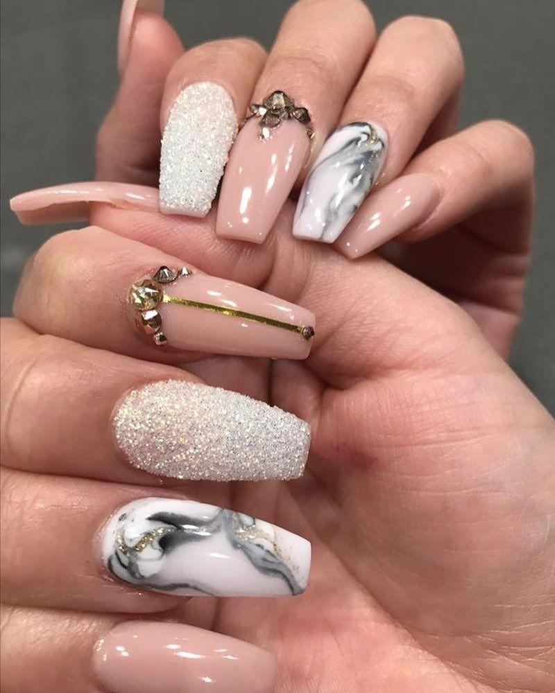 100 Bright Summer Nail Designs 2019 In 2020 Ladne Paznokcie