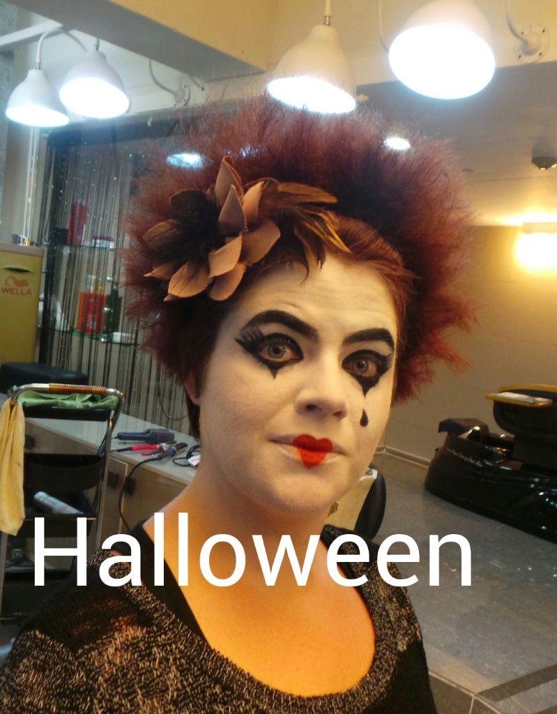 Halloween makeup gwangju korea  Halloween makeup gwangju korea