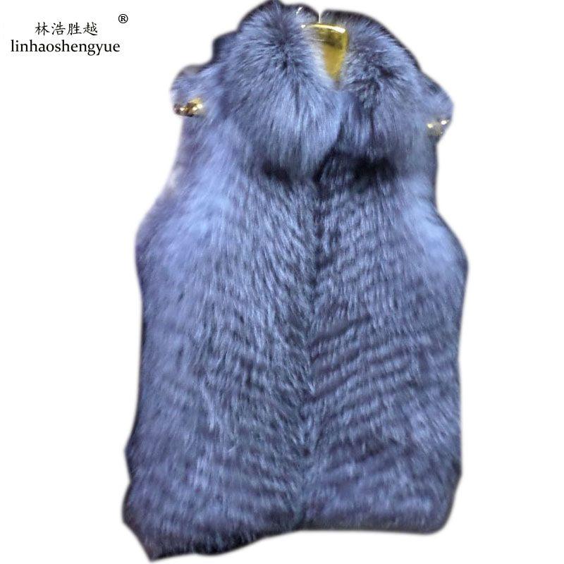 >> Click to Buy << Linhaoshengyue The fox fur vest coat #Affiliate