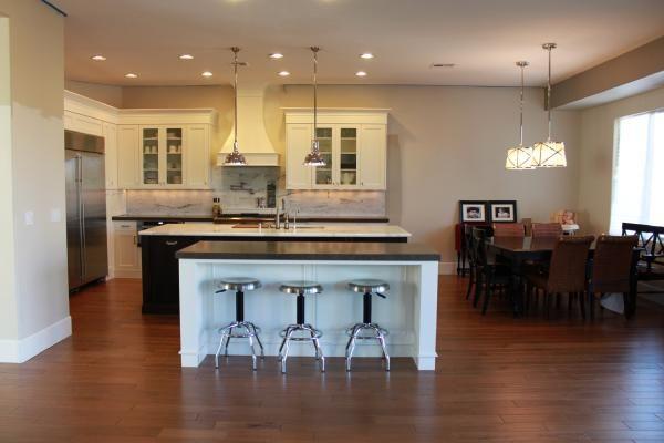 kitchens - sherwin williams - canvas tan - grosvenor pendant