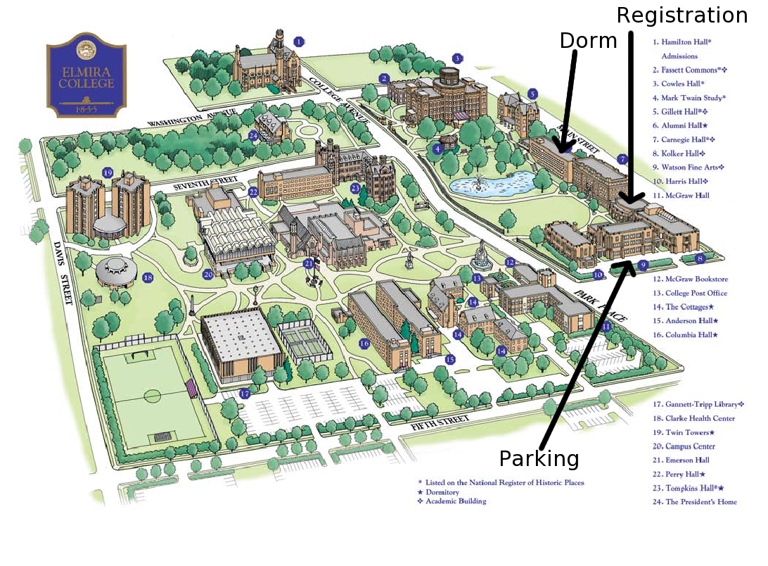 Illinois College Campus Map.Illinois State University Campus Map College Visits Campus Map