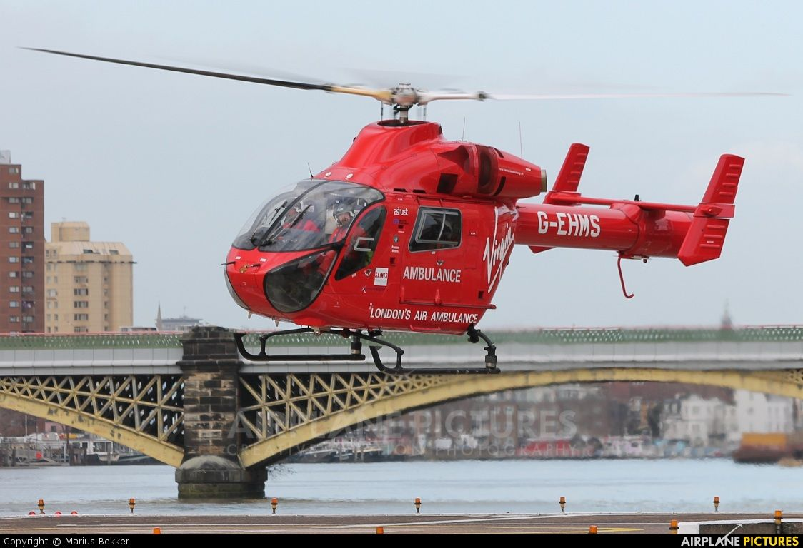 helicopters EHMS London Helicopter Emergency Medical