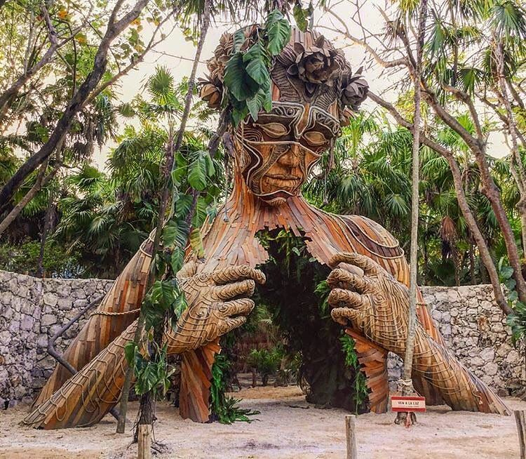 Bekka Told Me About This Sculpture In Mexico, Too. Pretty