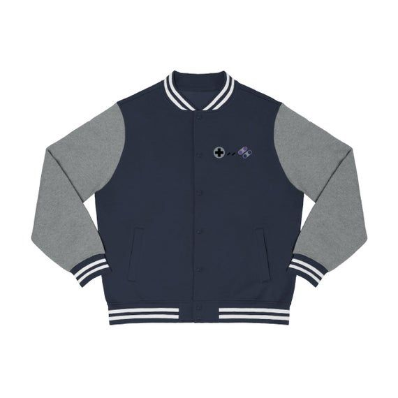 Super Gamepad mens varsity jacket #varsityjacketoutfit