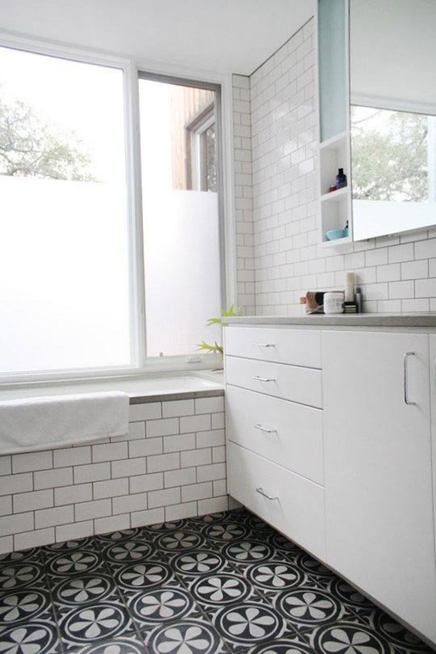 The New Bathroom: 5 Top Trends   Painted cottage, Bathroom ...