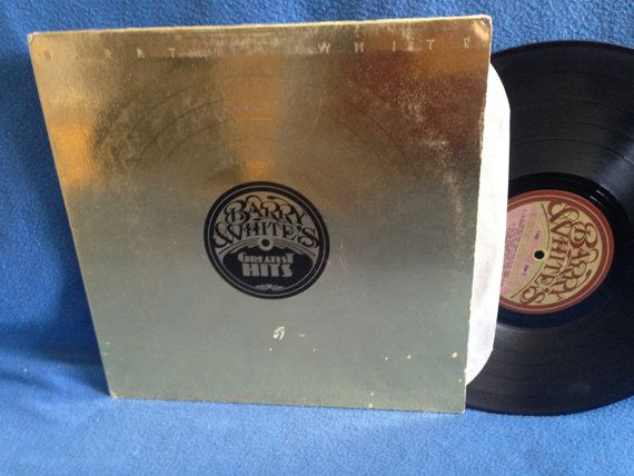 Vintage Barry White Greatest Hits Vinyl Lp By Sweetleafvinyl