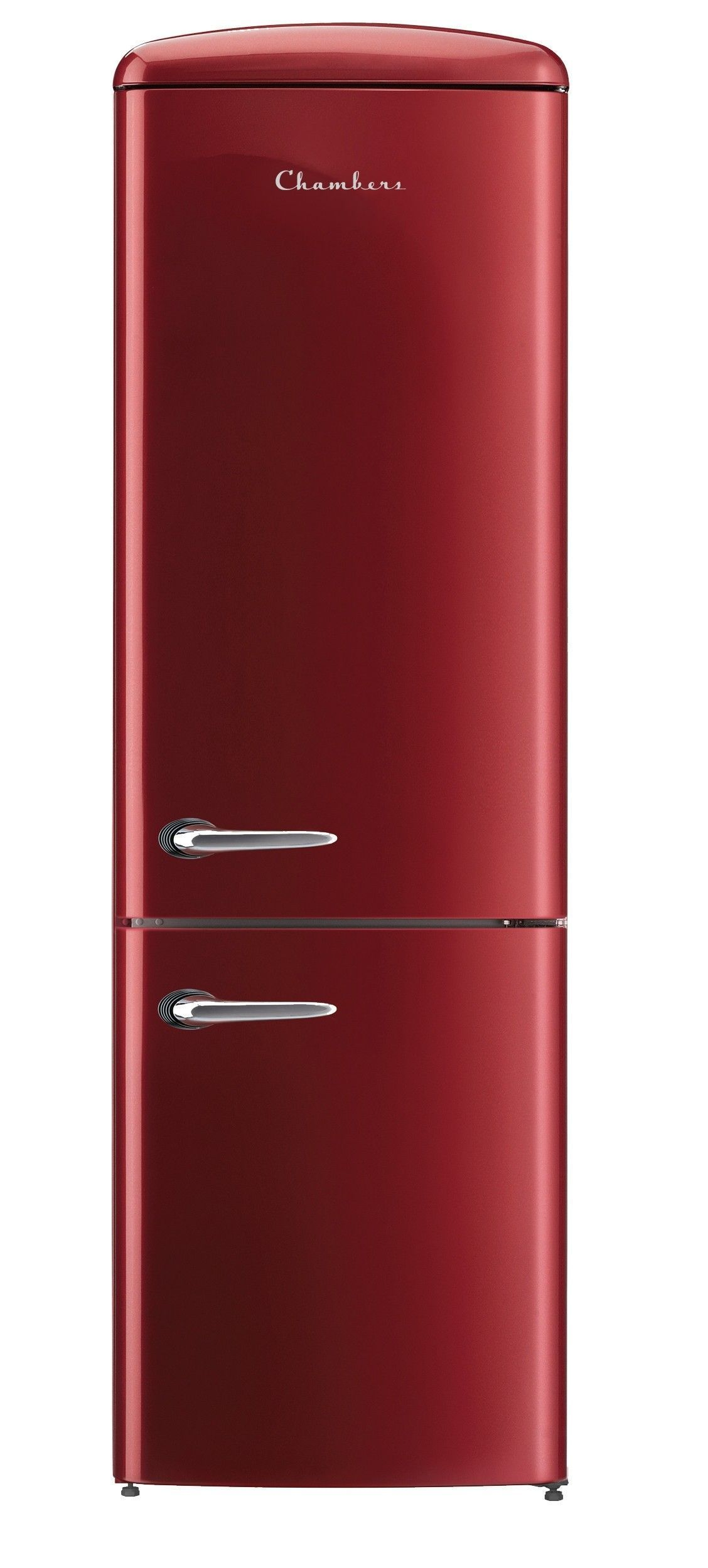Retro Bordeaux 12 Cu Ft Bottom Freezer Refrigerator Energy Star Retrohomedecor Retro Refrigerator Retro Home Decor Retro Home