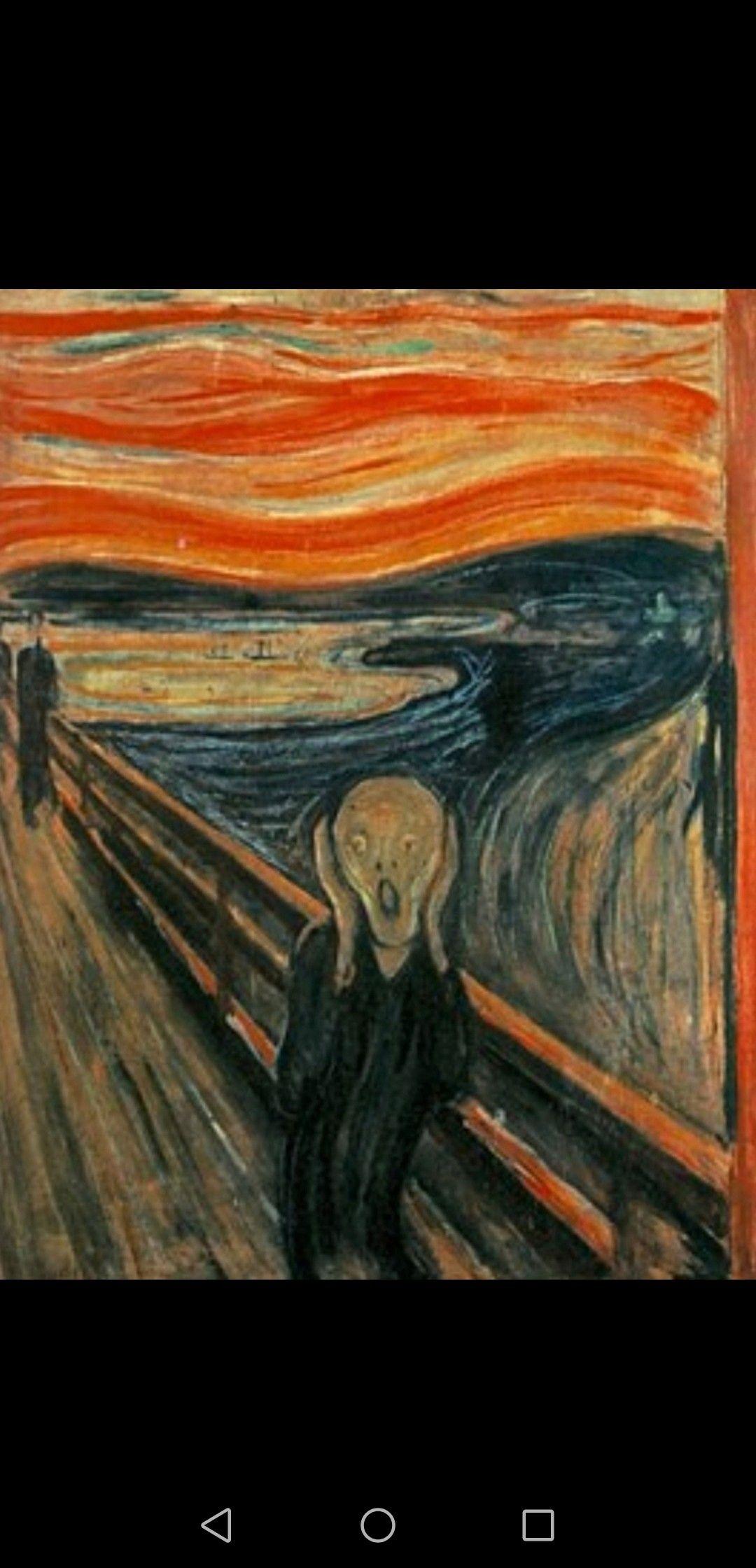 Edvard Munch | Famous art paintings, Scream art, Famous art