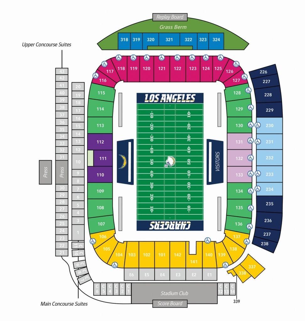 Cal Memorial Stadium Seating Chart