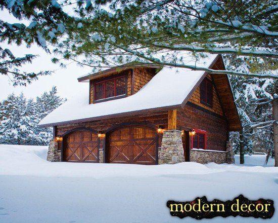 Rustic garage | Garages | Pinterest | Garage design and Carpentry