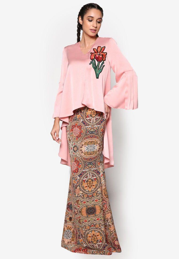 Zsofika Modern Baju Kurung 1 Glamour Baju Kurung Fashion Kebaya