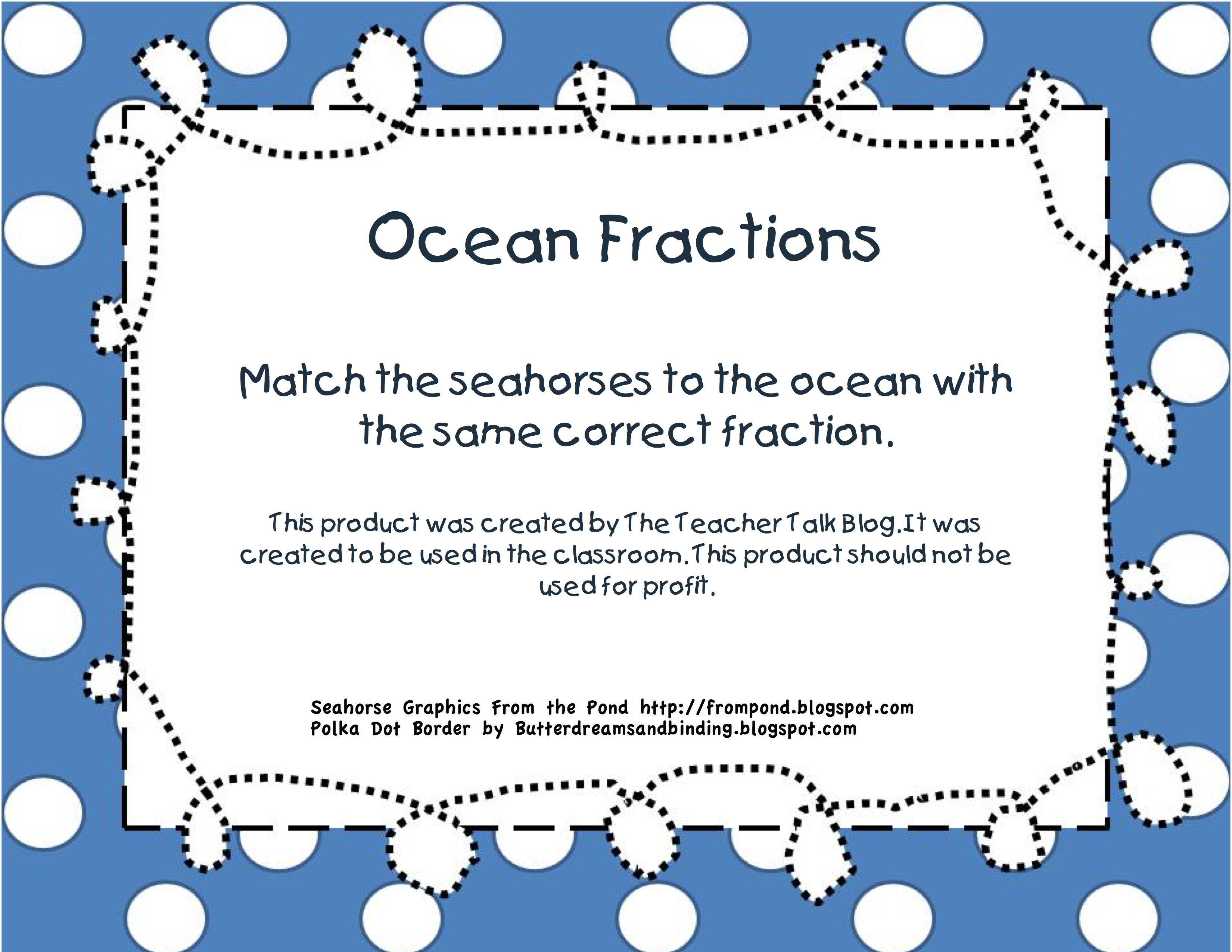 Ocean Fractions