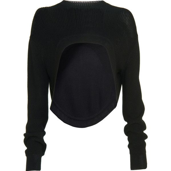 Givenchy Shrug Sweater ($1,080) ❤ liked on Polyvore featuring ...