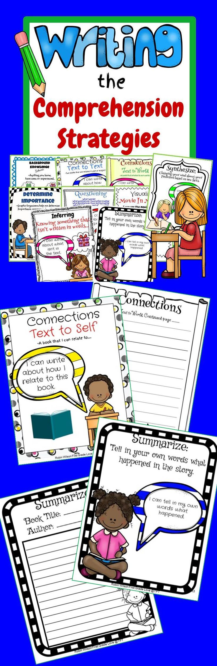 Worksheet Comprehension Programs reading comprehension strategies response sheets literacy sheets
