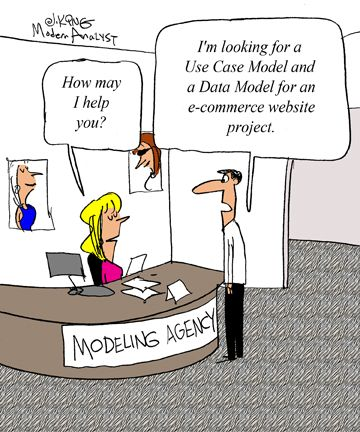 Humor Cartoon The Business Analyst S Quest For The Perfect Model