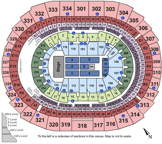 Justin Timberlake Tour Tickets at Staples Center in Los Angeles CA ...