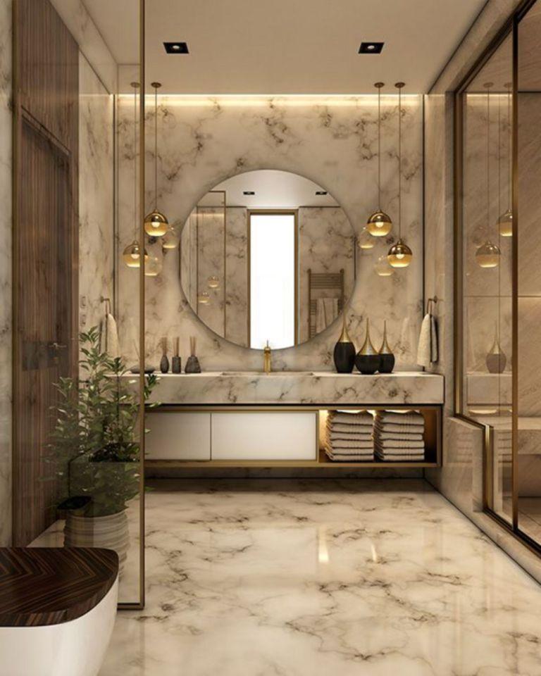 34 Elegant Modern Bathroom Design For Luxury Style Rengusuk Com In 2020 Bathroom Remodel Cost Bathroom Interior Design Modern Bathroom Design