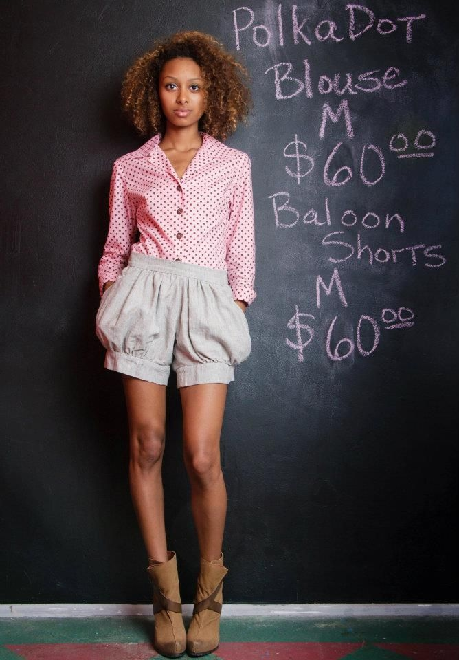 Shorts sold blouse needs a new home   shorts can be made http://igg.me/p/75961?a=484731