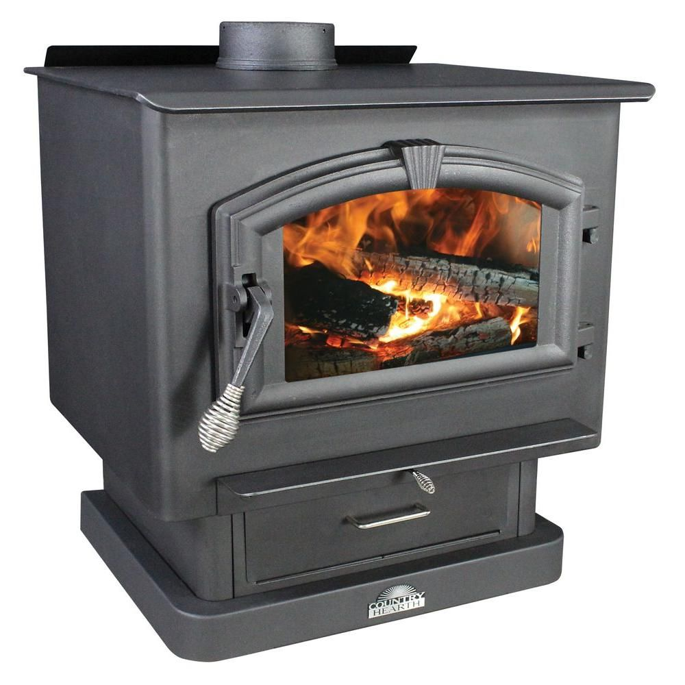2 500 Sq Ft Epa Certified Wood Burning Stove With Blower Us Stove Company Wood Stove Wood Burning Stove