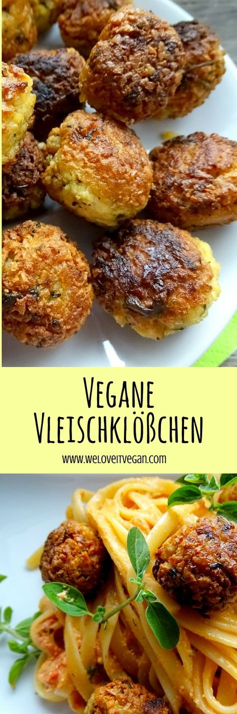 Vegane Vleischklößchen #vejetaryentarifleri