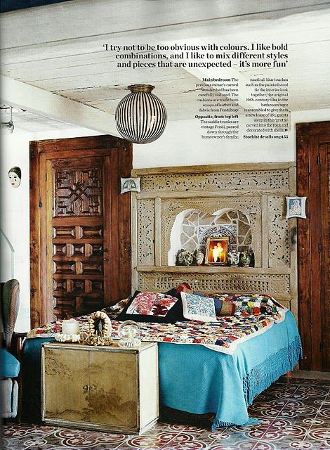 Thedecorista. Moroccan Style BedroomMoroccan ...