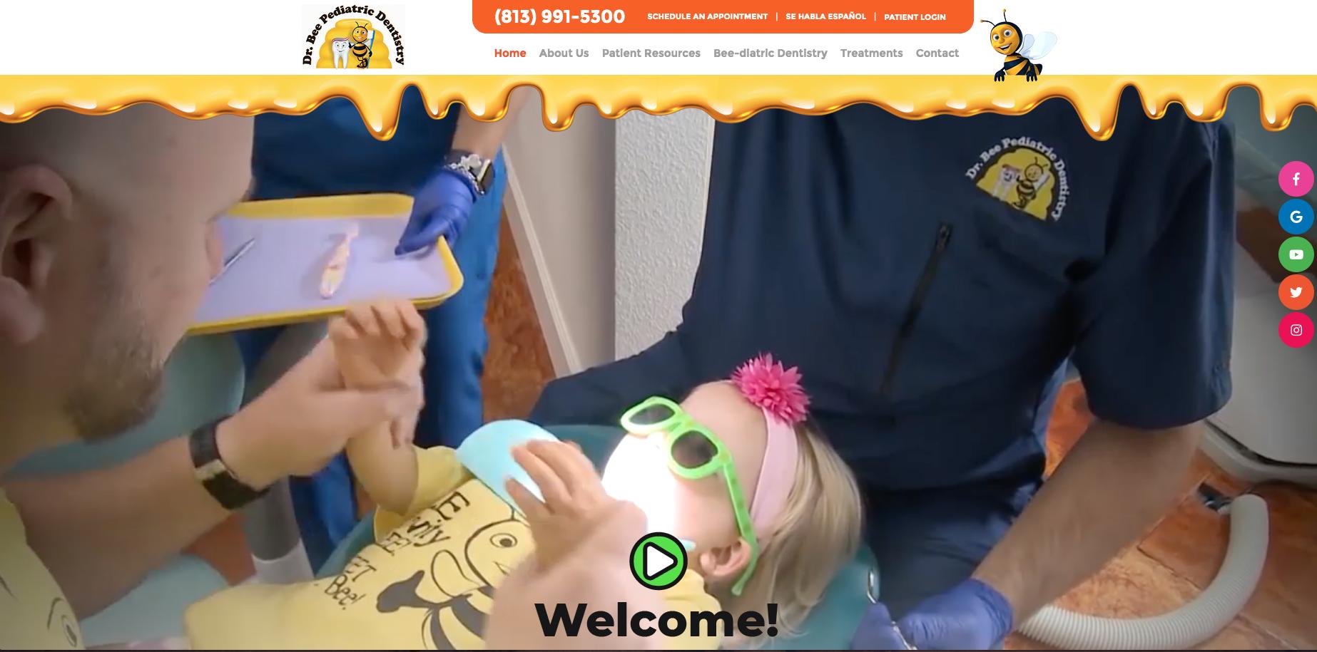 sesamewebdesign psds dental pediatric video